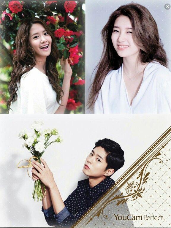 Song Hyun Rim, Hwa My Lia, and Kim Soo Ri  (Park Bo Gum, Bae Suzy, and Im Yoona)