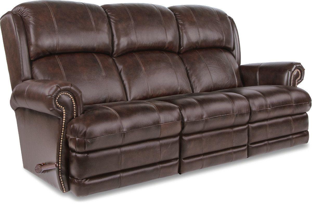 Kirkwood Reclina Way® Full Reclining Leather Sofa