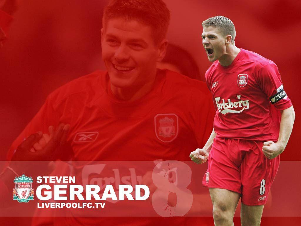 Steven Gerrard Wallpaper - http://www.wallpapersoccer.com ...