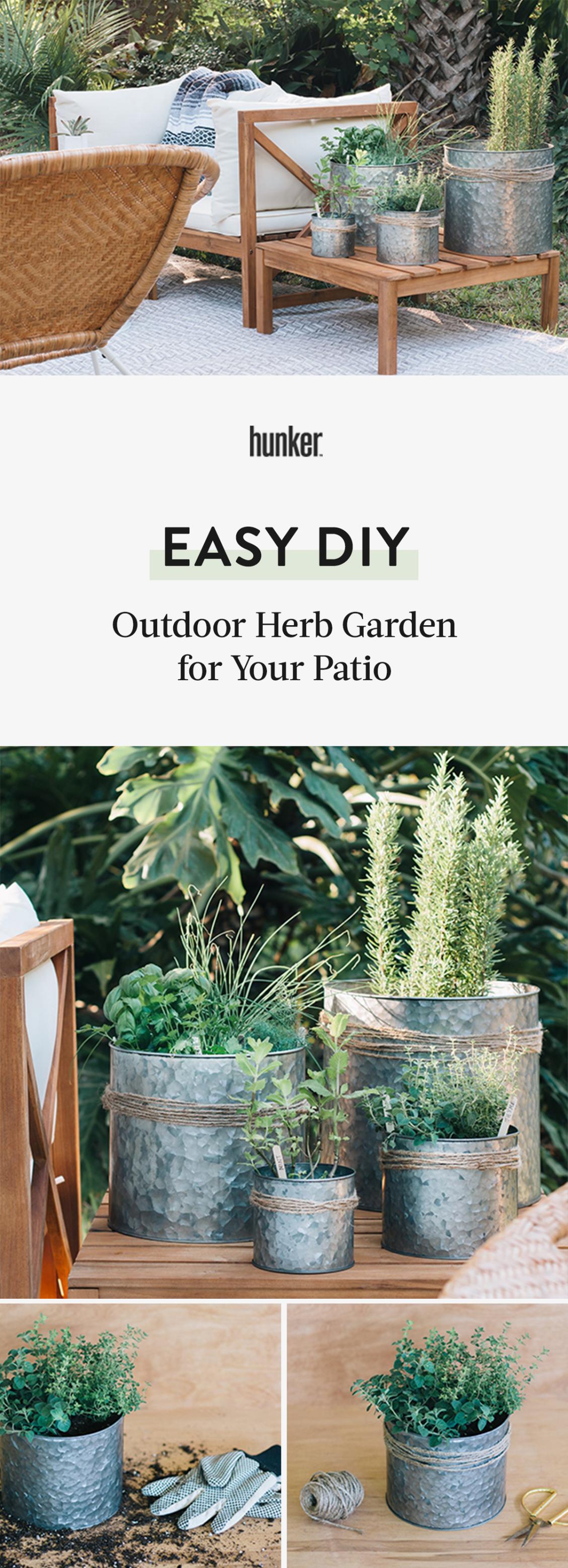 diy done outdoor herb garden for your patio outdoor herb garden herb garden herbs on outdoor kitchen herb garden id=28731