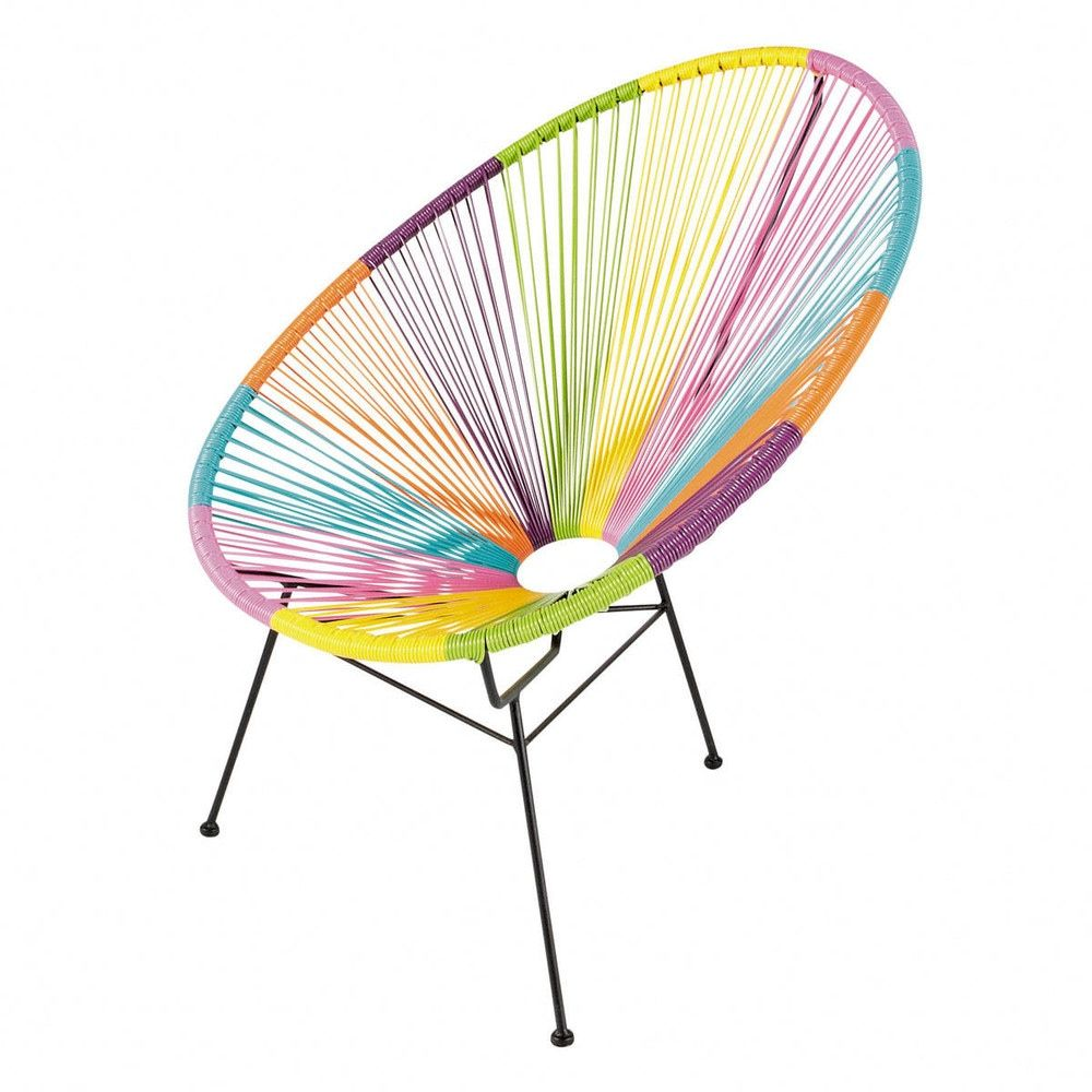Ronde Tuinzetel Veelkleurig Garden Chairs Chair Garden Furniture