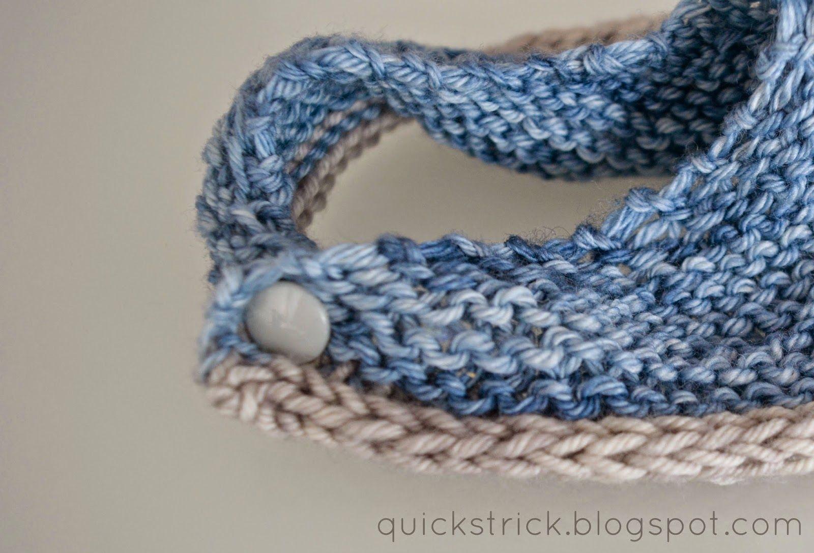 Spucktuch für Babys stricken kostenlose Anleitung small shawl knit ...