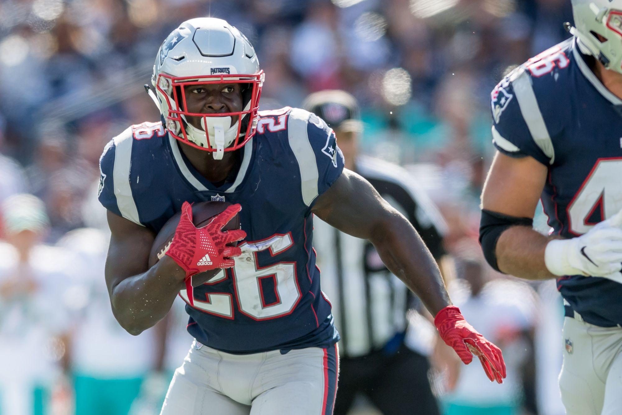 Sony Michel Ems Week Fantasy Football New England Patriots