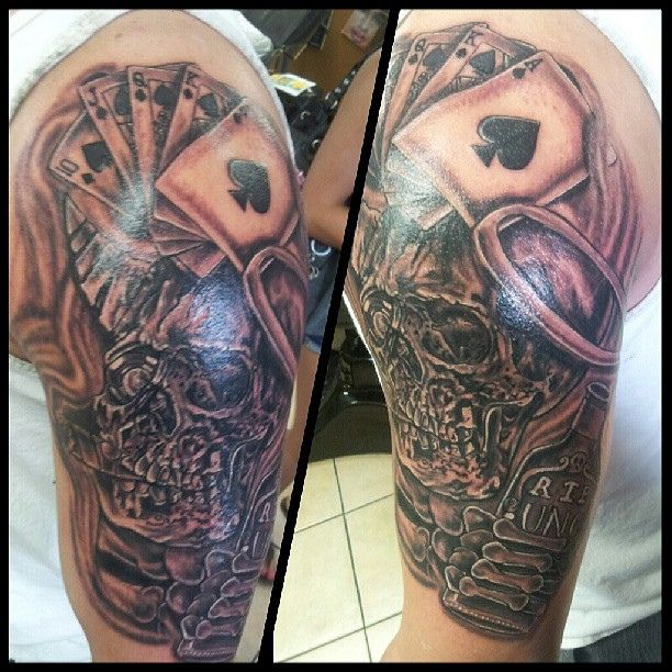 16 Amazing Aces Tattoos Ideas