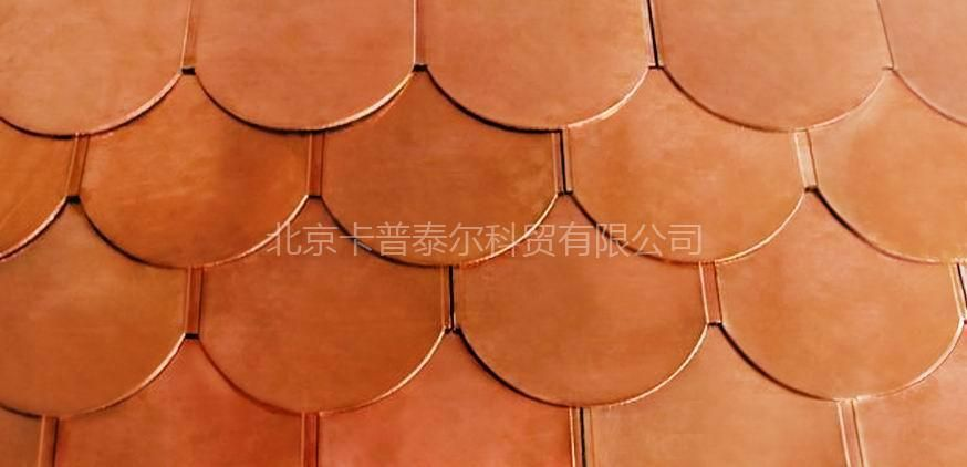 Fish Scale Copper Roofing Tile China Roof Tile Metal Wall Made In China Com Mobile111 Copper Roof Roofing Metal Roof