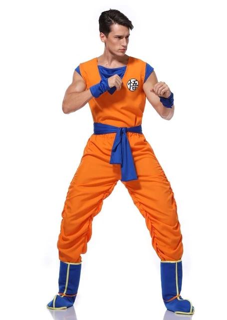 Dragon Ball Z Son Goku S Training Suit Set Cosplay Costume Dbz Goku Costume