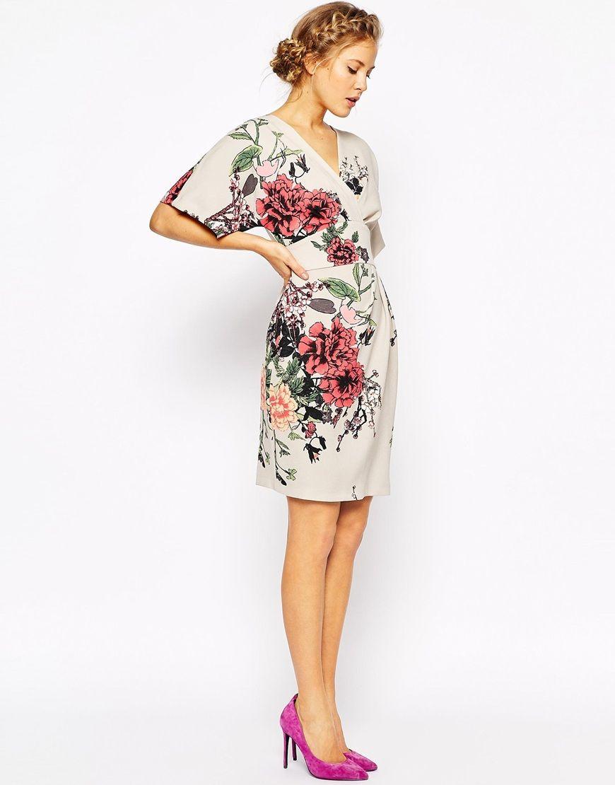 Closet Obi Wrap Dress With Kimono Sleeve | Wrap dresses, Kimonos and ...