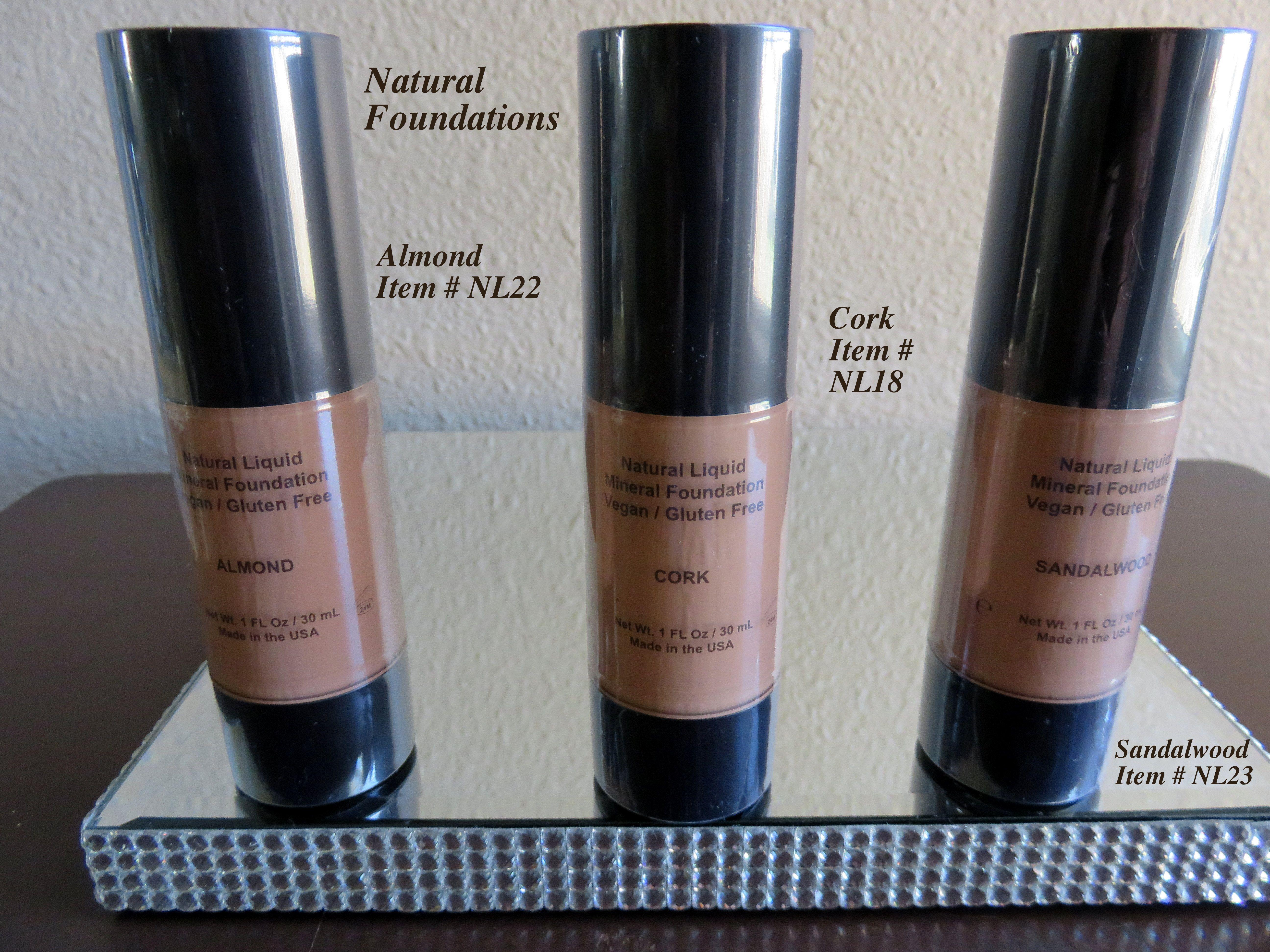 organic liquid foundation makeup Natural cosmetics