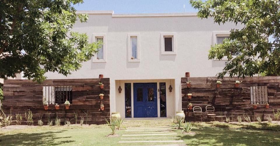 Pared En Quebracho Fachada De Casa En Santa Clara Villanueva
