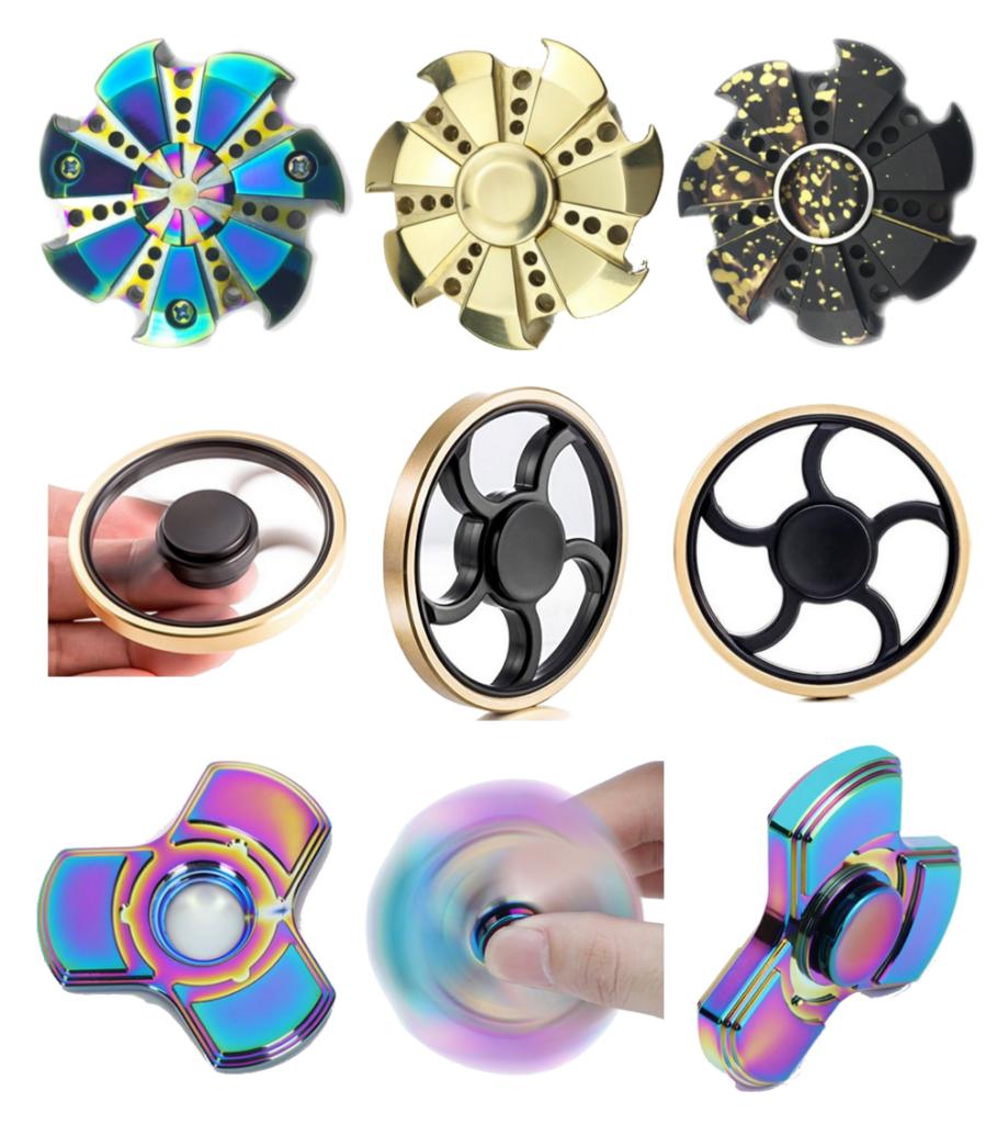 aluminiowe kolorowe spinnery