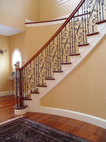 Best Details About Fitts Stair Parts Wrought Iron Balusters Options Avail Stair Railing Design 400 x 300