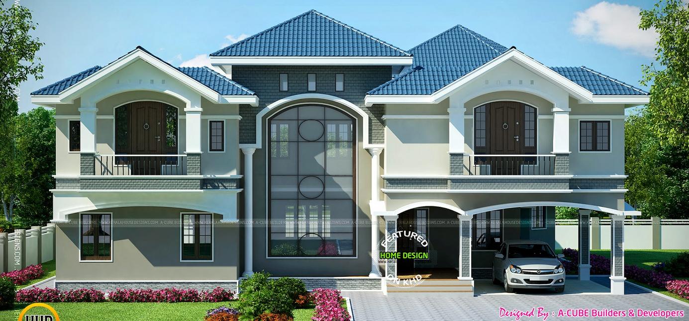 Modern Beautiful Duplex House Design Duplex House Design House Plan Gallery Duplex House Plans