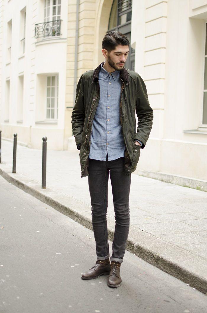 Maxime, membre de l équipe BonneGueule, opte pour une tenue simple mais  efficace e73772d77cb1