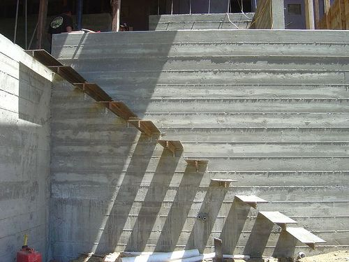 Board Formed Concrete Wall Gric D2 Project Inspirations