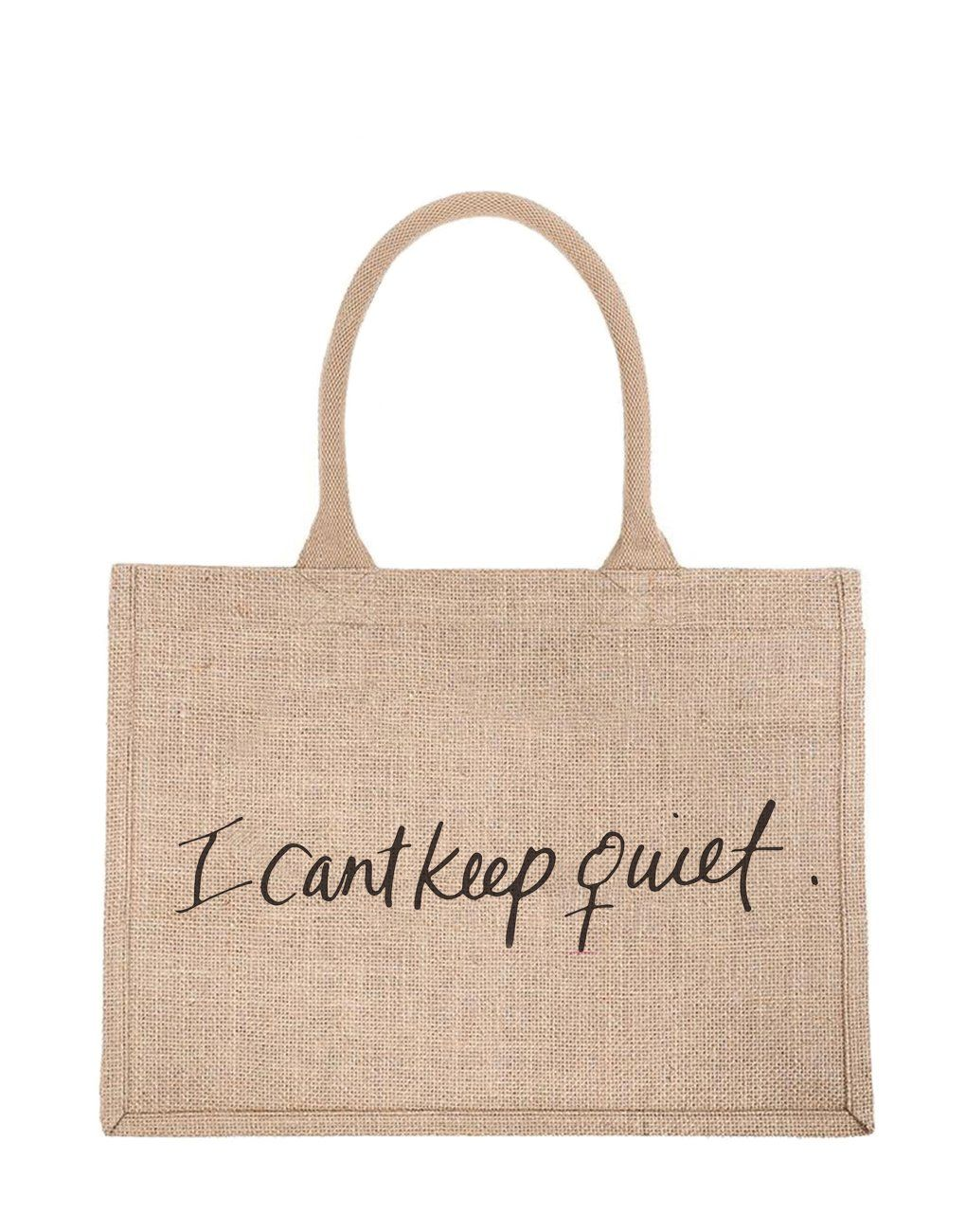 Download Purposefull Tote Tlm X I Can T Keep Quiet Reusable Shopping Bags Shopping Tote Bag Shopping Tote