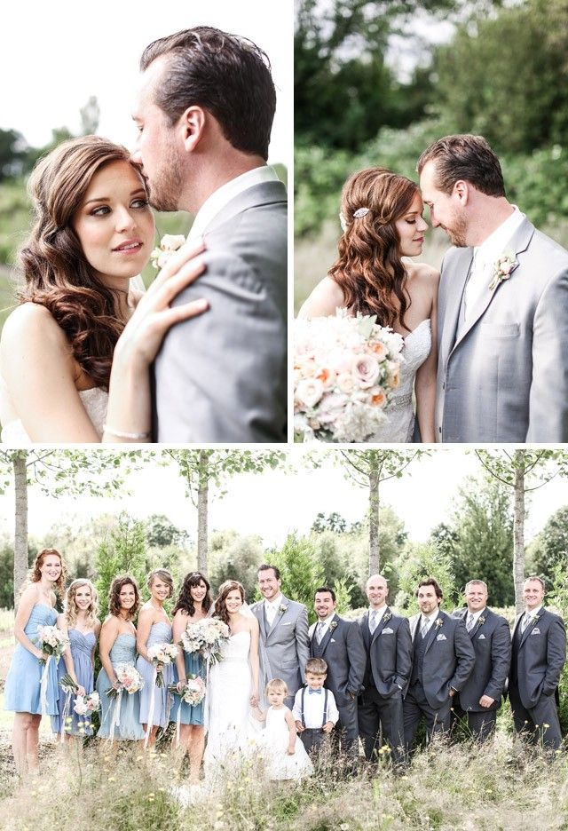 Real Bride Laura Wearing The Chesney Wedding Dress By Maggie Sottero