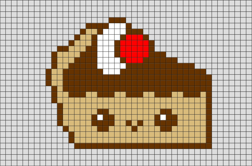 Cake Pixel Art Pixel Art Pixel Art Templates Art