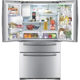 Samsung 28 0 Cu Ft French Door Refrigerator Stainless Steel