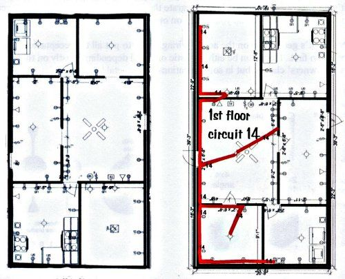 Electrical House Wiring For The Servie Entrance Electrical Wiring House Wiring Electrical Wiring Diagram