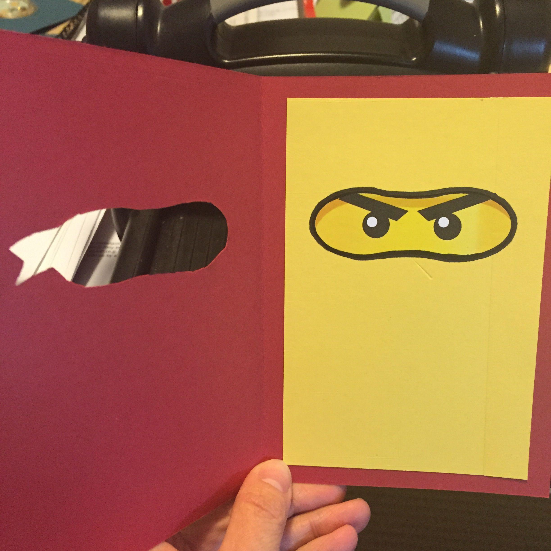 Caro S Pretty Things Kids Cards Ninjago Birthday Cards