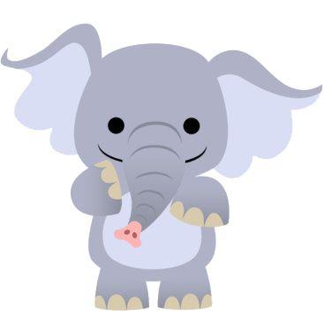 Montando a minha festa Imagens Safari  Elefantes  Pinterest