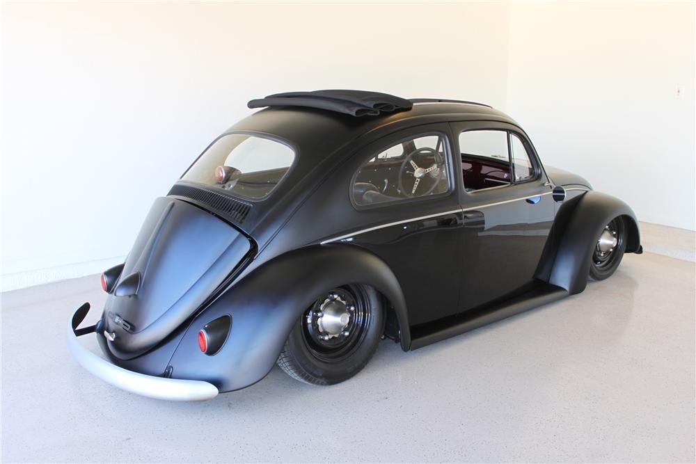 1960 Volkswagen Beetle Custom 2 Door Coup Barrett Jackson