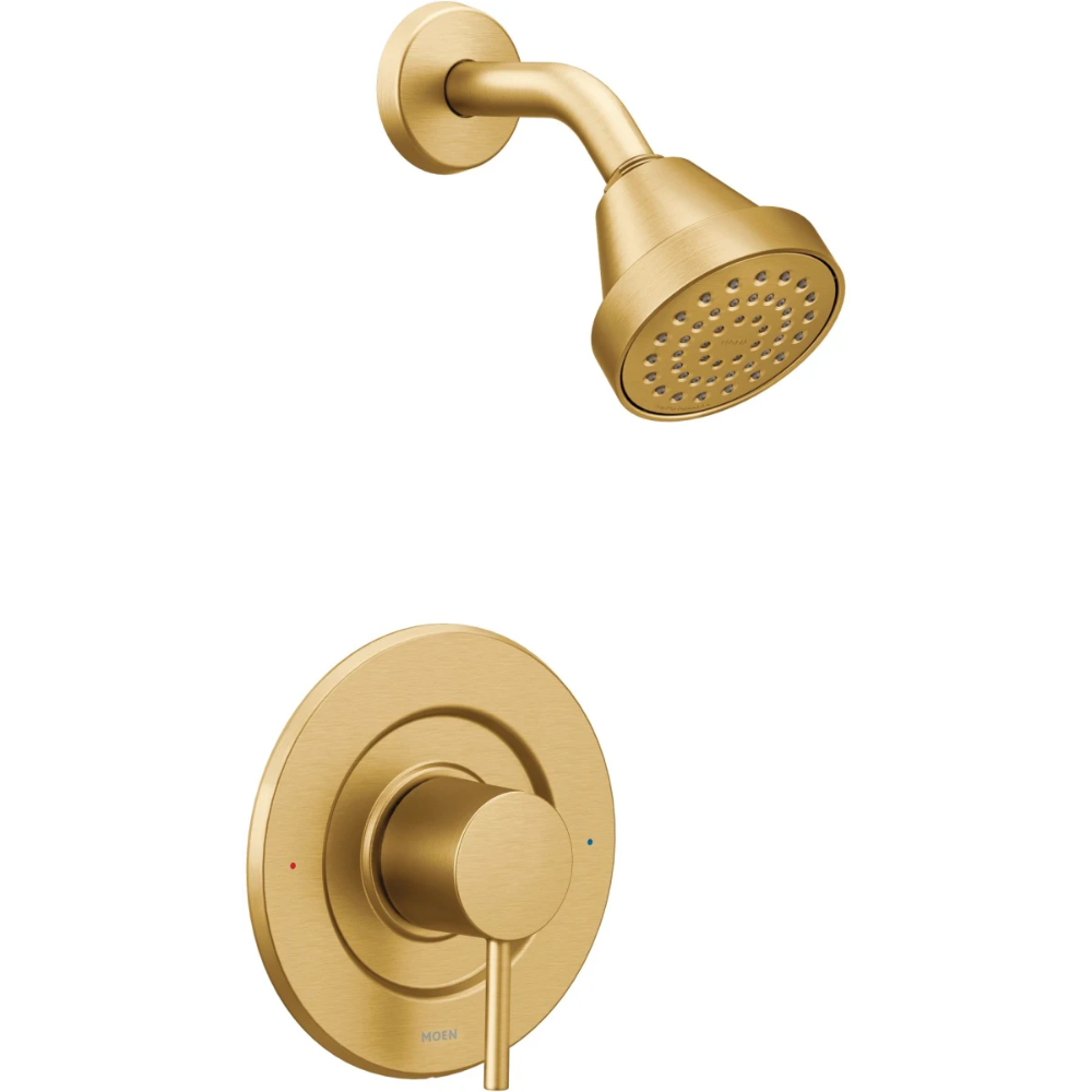 Moen T2192 Shower Faucet Shower Heads Gold Shower