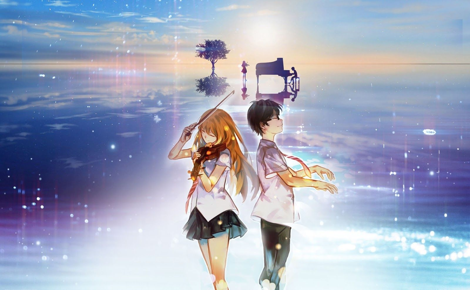 Hikaru Nara Your Lie In April Goose House King Flute Bamboo Flute Piano Letter Notes Recorder Notes Chords Vi Your Lie In April You Lied Death The Kid