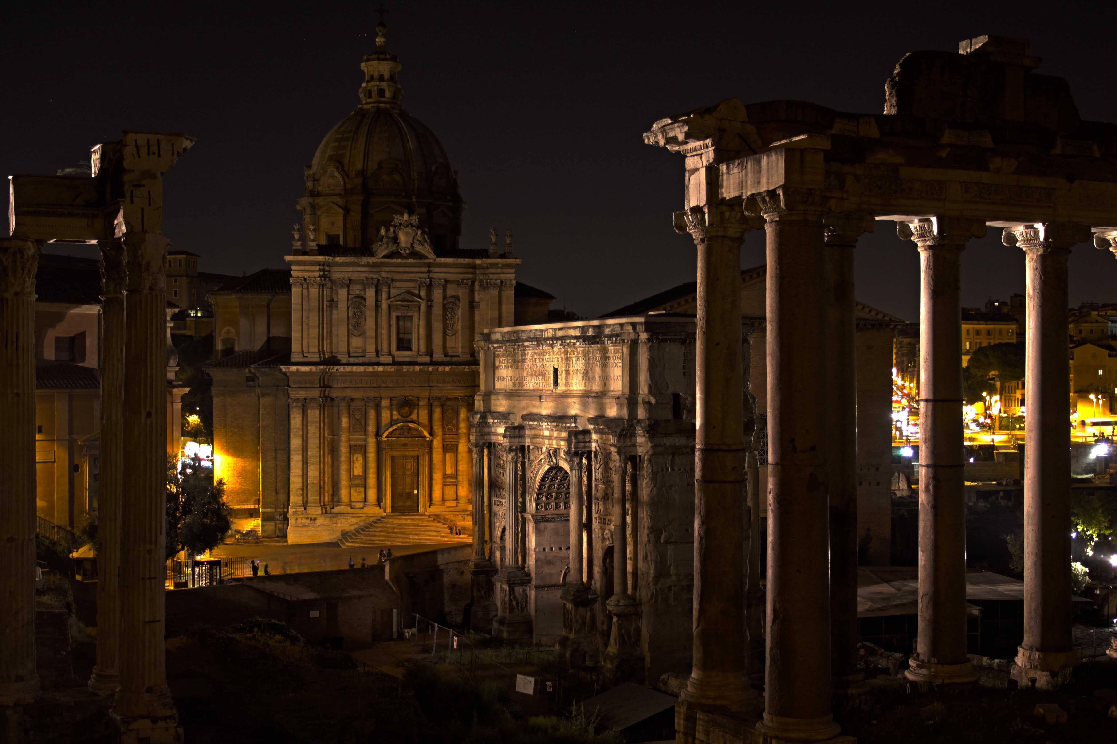 Roman Forum-  Courtesy of Carl Nelson