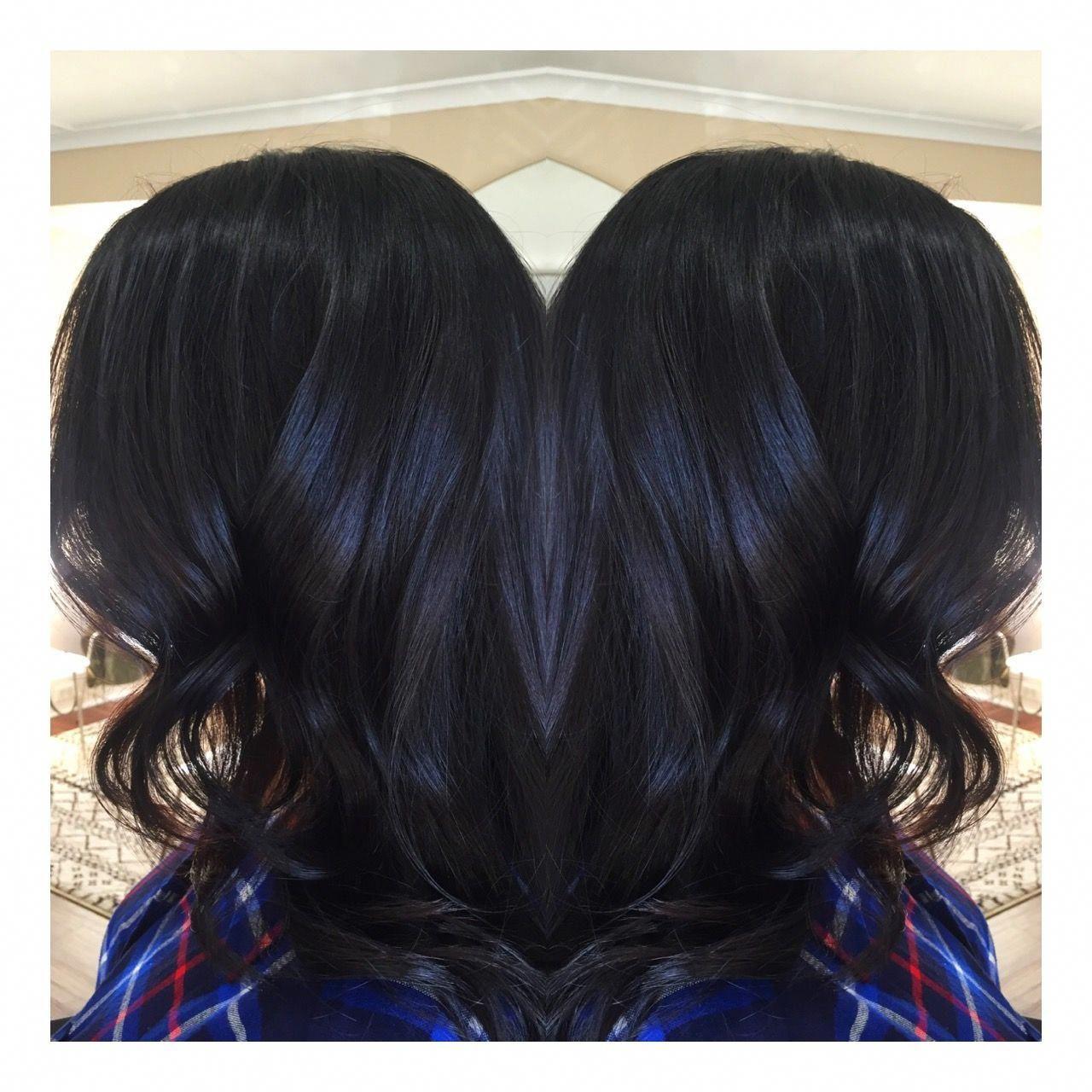 Darkest brown black Victoria's Secret inspired haircolor Kim Kardashian Color se…