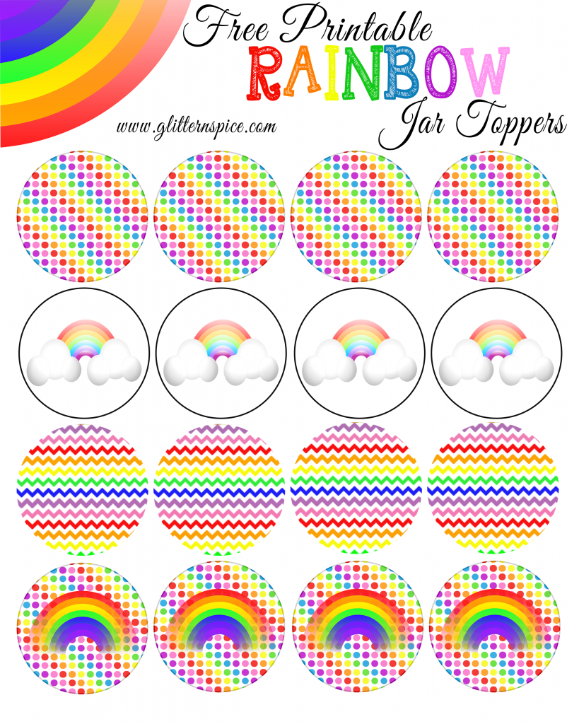 free printable rainbow templates small medium u0026 large free