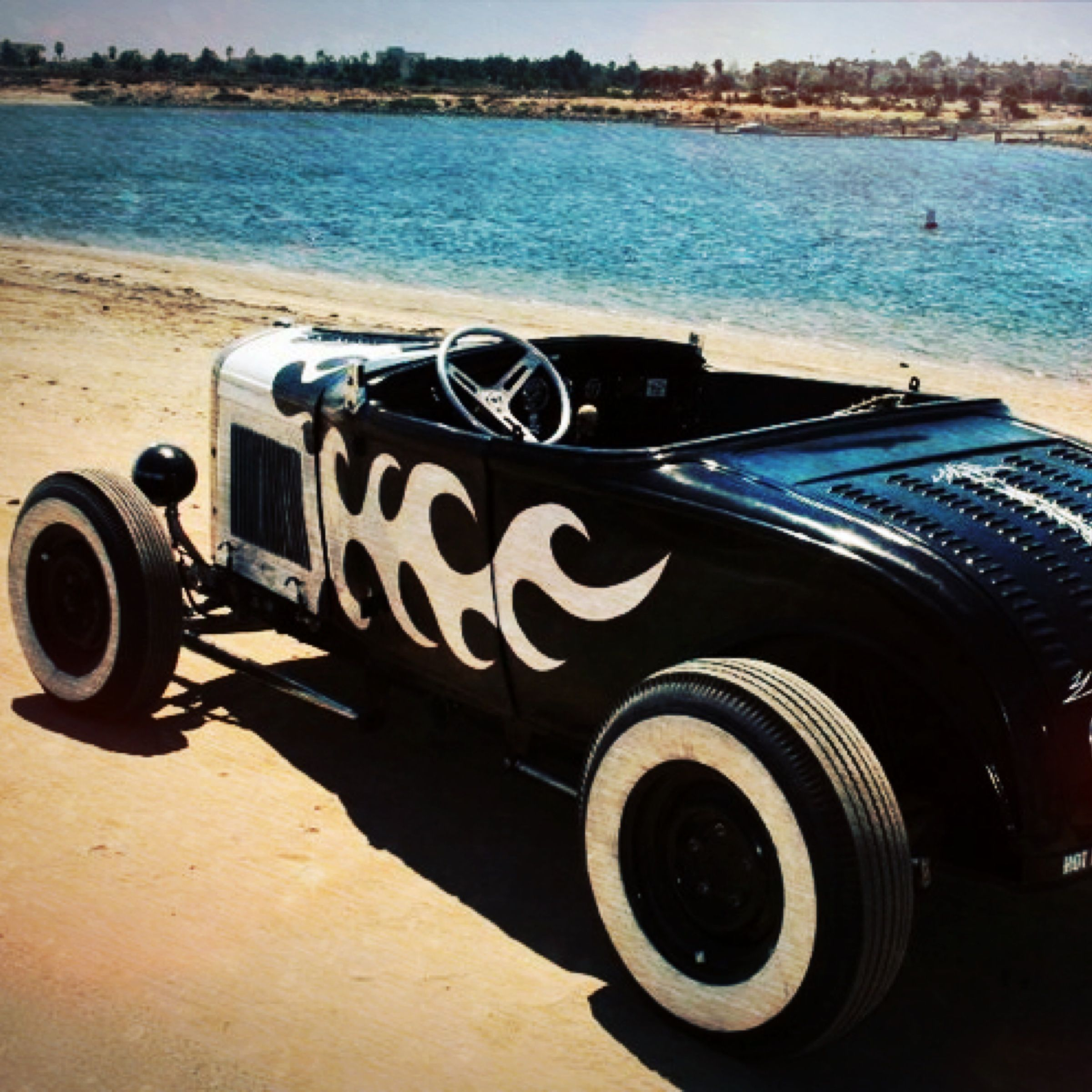 1931 Ford traditional hot rod roadster built by San Diego artist ...