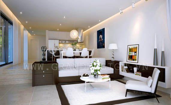 Vietnamese Style Interior By Grand Design Contemporary Interior