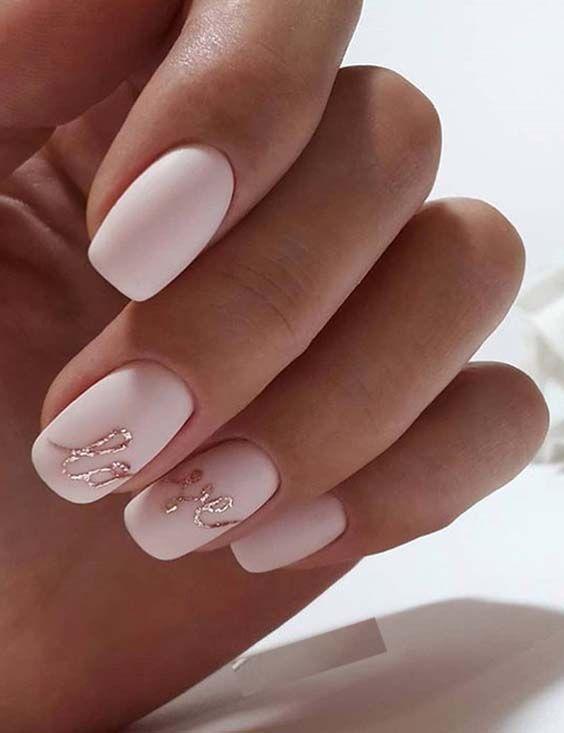 Photo of 28 aubaubenden Hochzeit nail Ideen passend zum brautkleid, Braut-Nägel, Hochzeits-nail-ar … – N