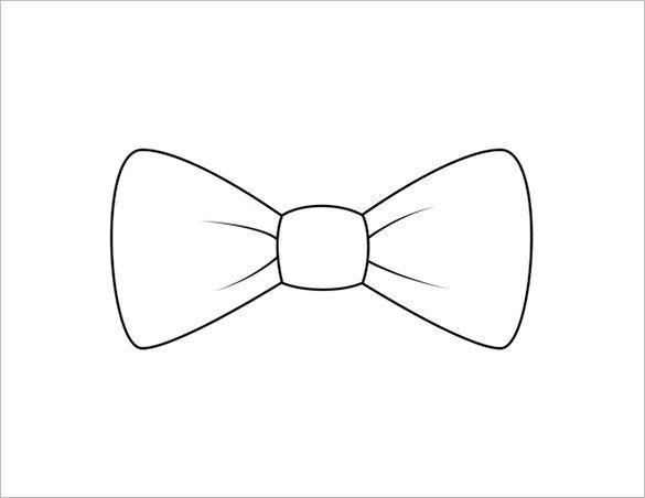 9 printable bow tie templates free word pdf format download 9 printable bow tie templates free word pdf format download free pronofoot35fo Image collections