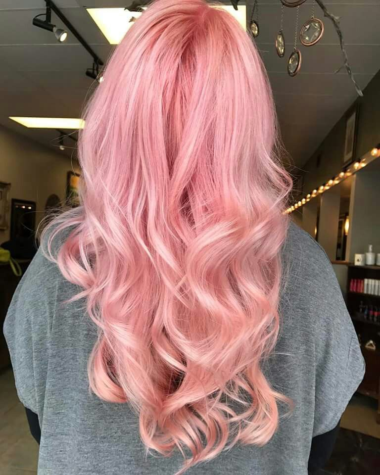 rose pink hair joico colour intensity