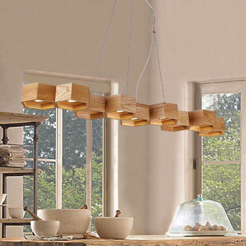 Encontrar más luces colgantes información acerca de fresno natural ...