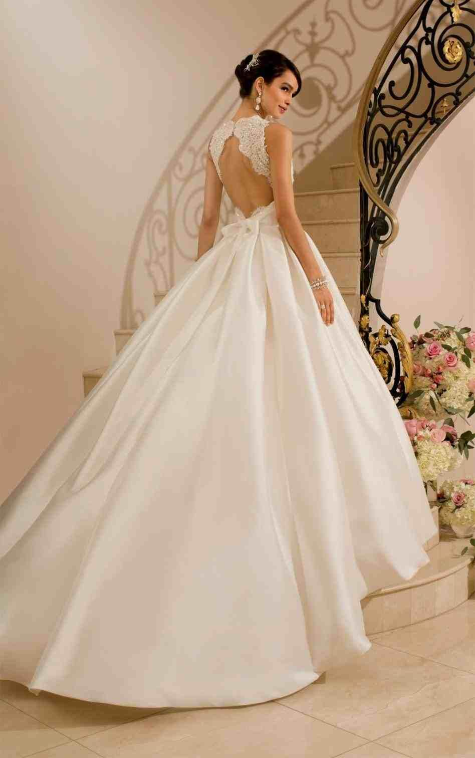 princess wedding dresses with corset and bling  Weddings