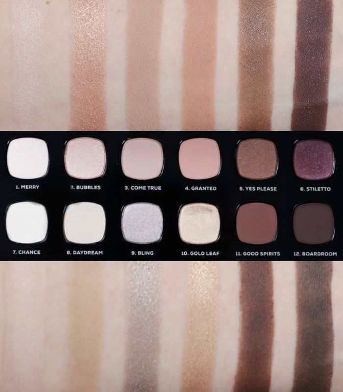 bareMinerals Wish List Ready Eyeshadow Swatches