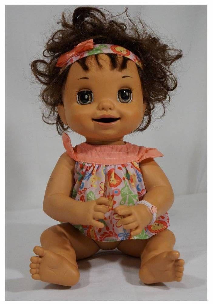 Baby Alive Learns To Potty Hasbro 2007 Talking Doll Hispanic Spanish English Hasbro Cutey Baby Alive Dolls Baby Alive Baby