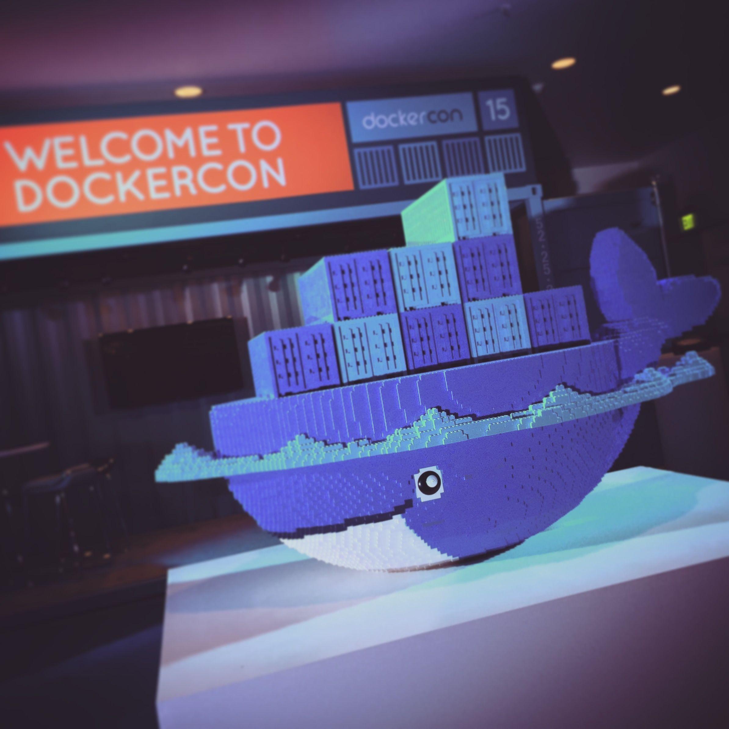 Docker DockerCon Lego Whale Docker