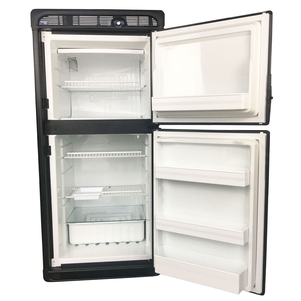 Roadpro Built In 12 Volt Dc Refrigerator With Freezer Tf49 599 Built In Refrigerator Refrigerator Freezer 12 Volt Appliances