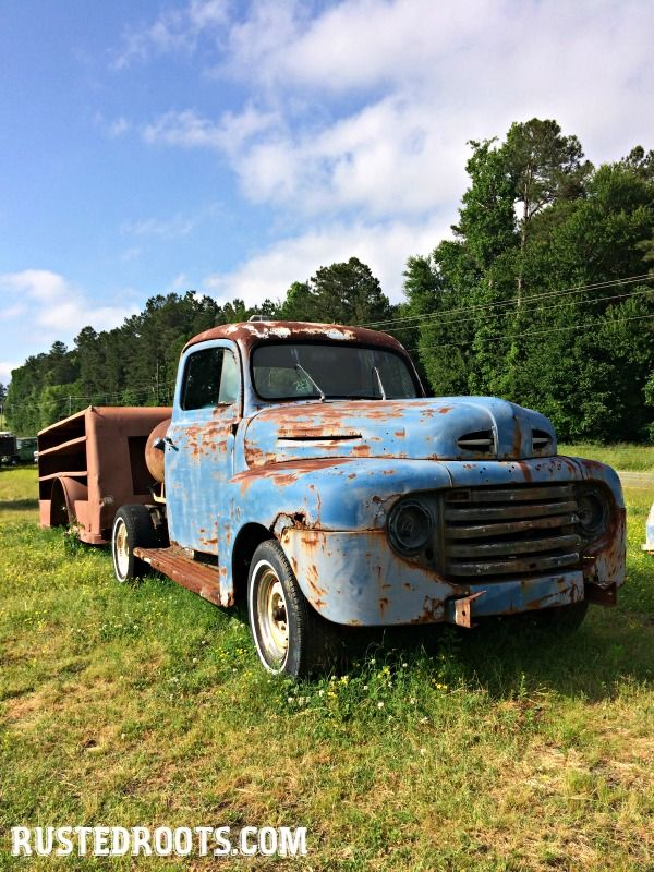 One Blogger\'s Journey to Buying a Rusty Old Truck #RustedRoots ...