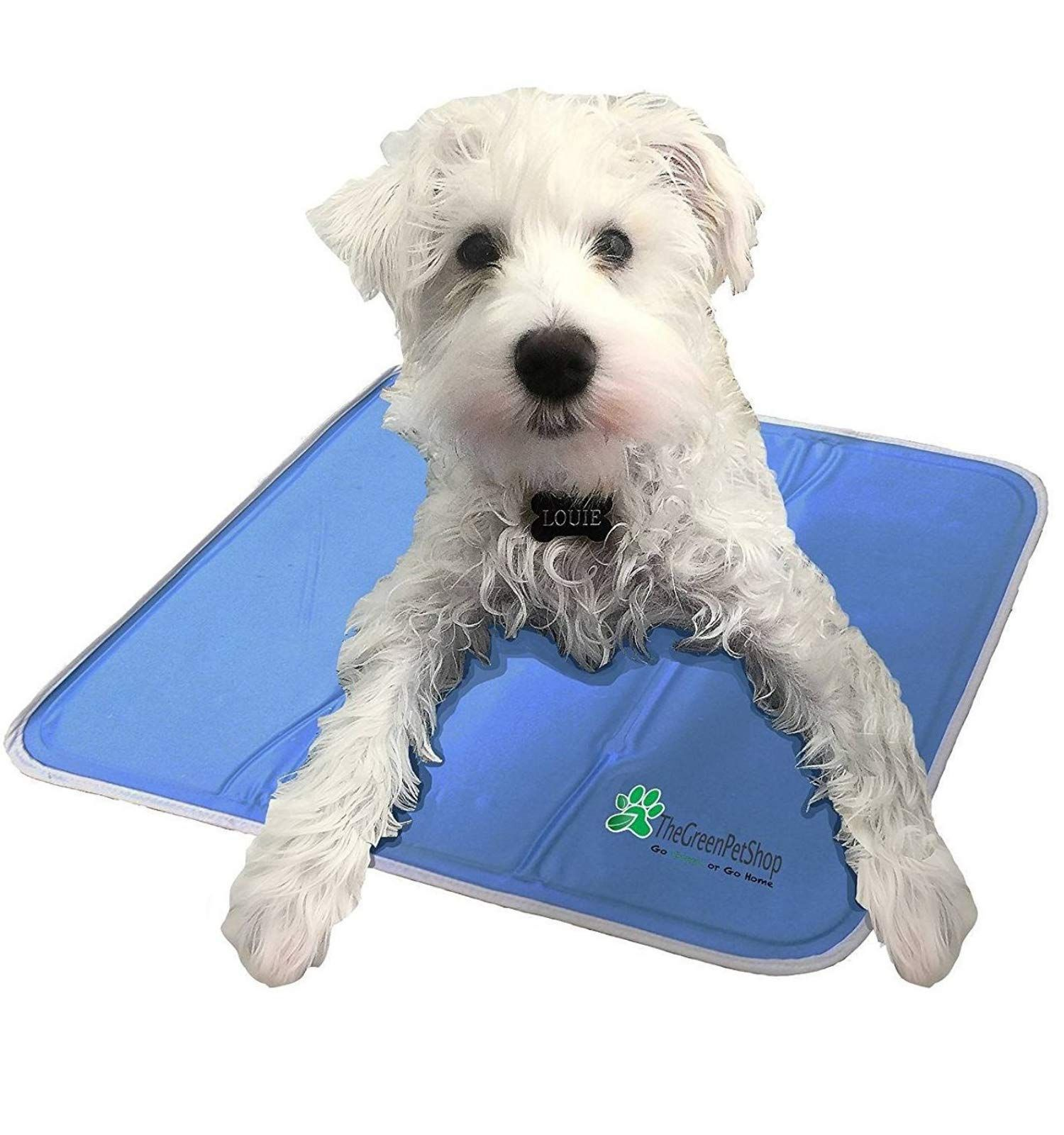 The Green Pet Shop Dog Cooling Mat Pressure Activated Gel