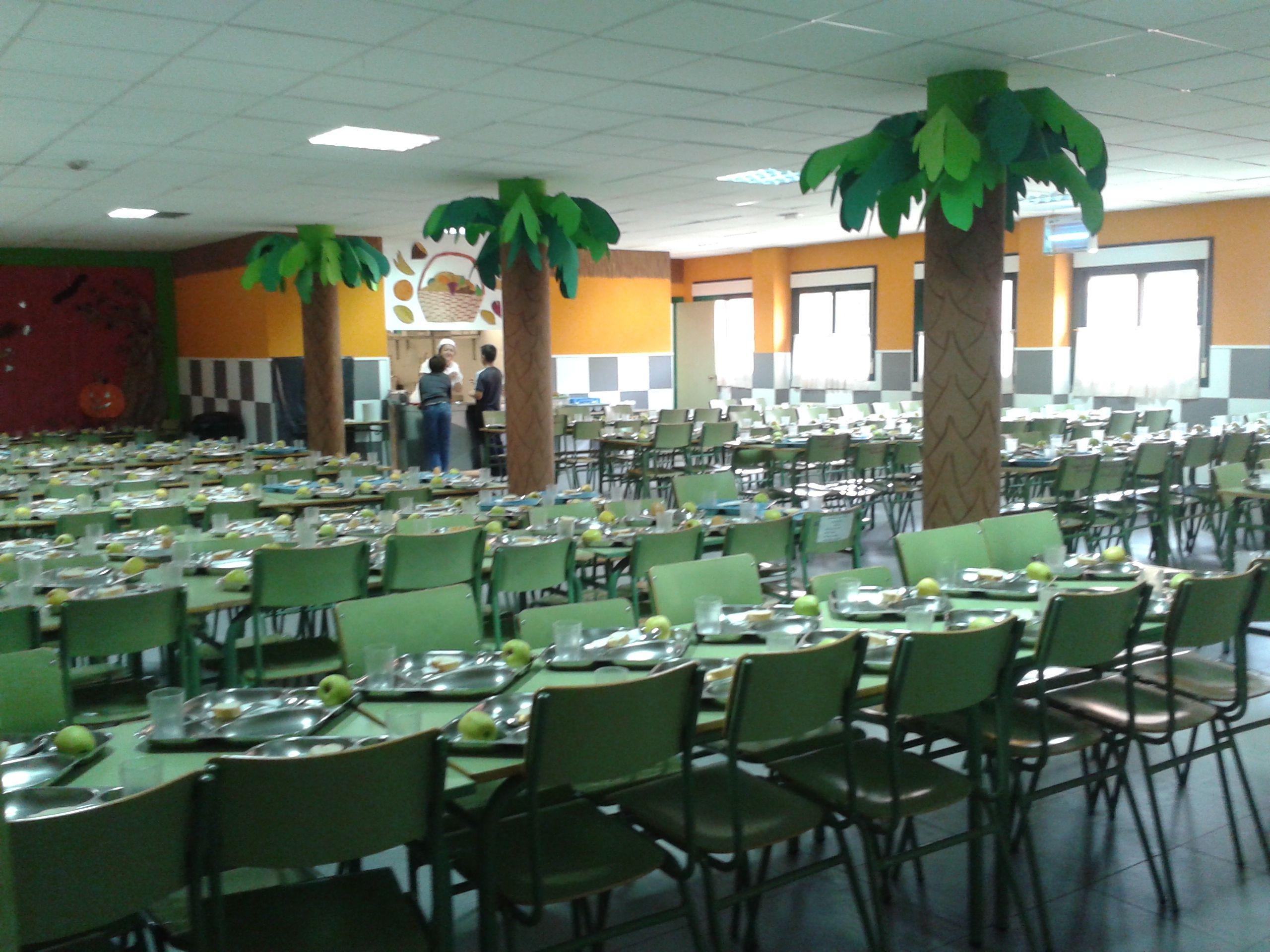 Comedor Colegio Rayuela   decoración   Decoración de unas ...