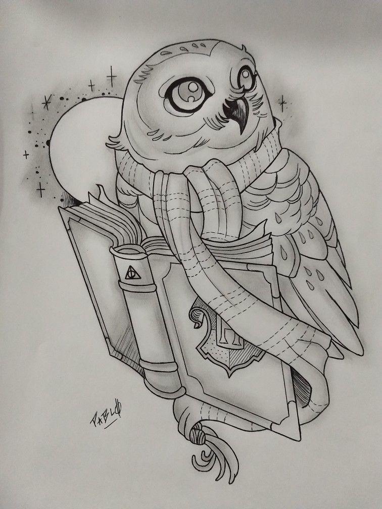 Hedwig Kunst Skizzen Zeichnungen Zeichnung