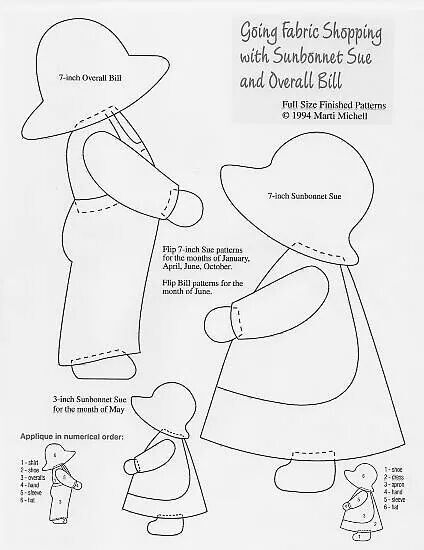 Sunbonnet Sue & Overall Bill