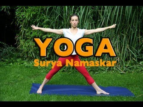 surya namaskar  youtube  surya namaskar exercise pranayama