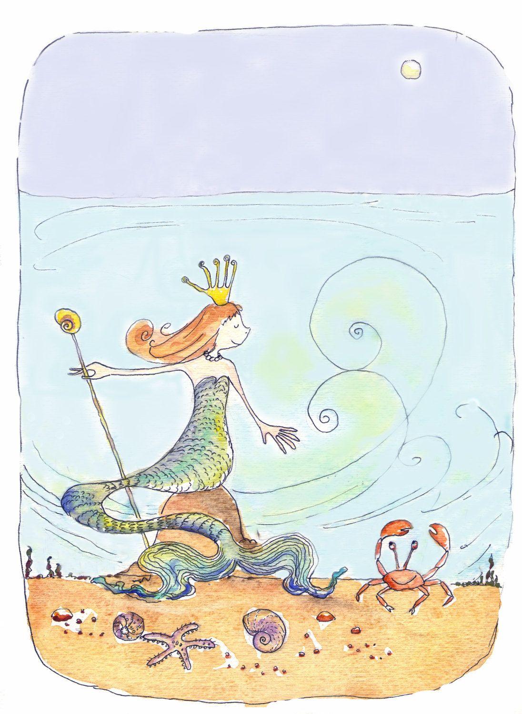 Mermaid under the sea by strawberrysnail hanna pinterest