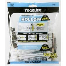 Toggler 50425 Toggle Anchor Bb Hollow Wall Anchors 1 4 20 Pack Of 10 By Mechanical Plastics 11 99 Toggler Snapt Hollow Wall Anchors Wall Anchors 10 Things